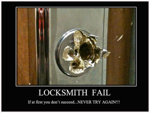 locksmiths charge more after 6pm you know