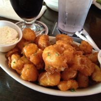 cheese curds at twenty tap -- thanks, benson!
