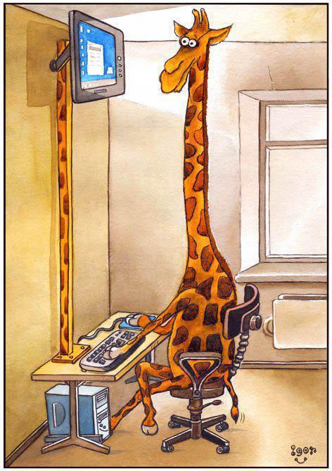 giraffe-computer