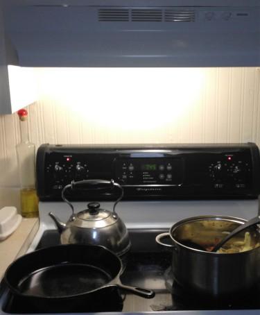 ooh, a stove!