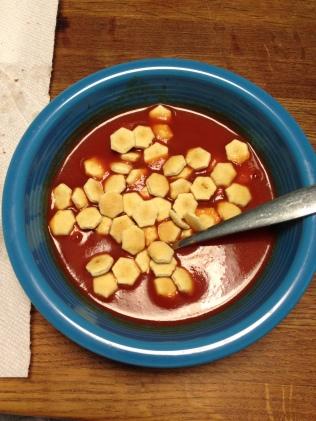 Farmgirl's heirloom tomato soup recipe, now my go-to recipe