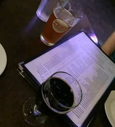 honey oak pilsner and bourbon stout