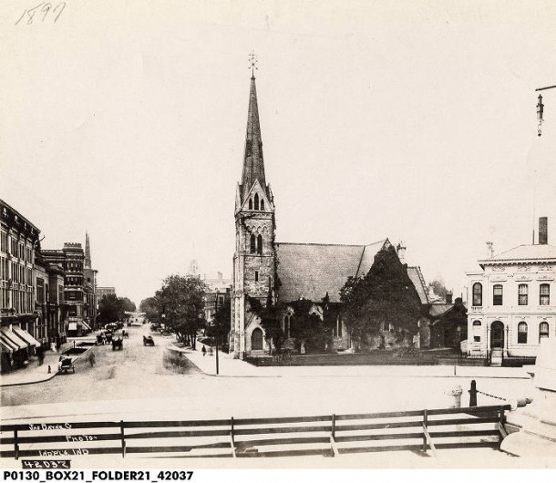 Monument-Circle-125-Christ-Church-1897-IHS-Bass-42037-610x530
