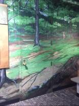 mural door